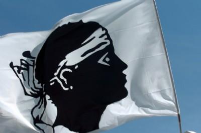 La bandiera corsa -foto AFP